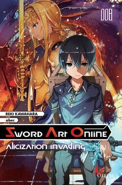 Couverture de Sword Art Online, Tome 8 : Alicization Invading