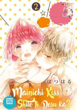 Couverture du livre : Mainichi Kiss Shite Ii Desu ka? Tome 2