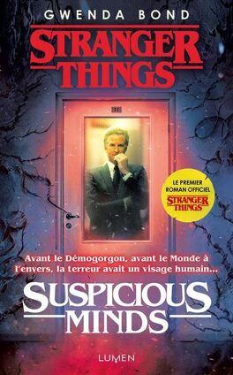 Couverture du livre : Stranger Things : Suspicious minds