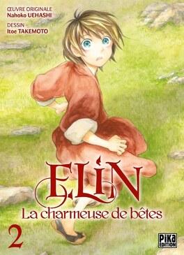 Couverture du livre : Elin, la charmeuse de bêtes, Tome 2