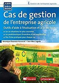 Couverture du livre : Cas de gestion de l'entreprise agricole