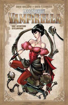 Couverture du livre : Legenderry : Vampirella - une aventure steampunk