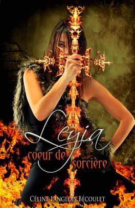 Couverture du livre : Leyia, coeur de sorcière