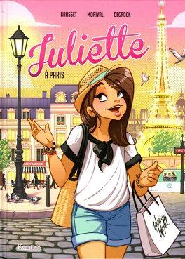 Couverture du livre : Juliette à Paris (BD)