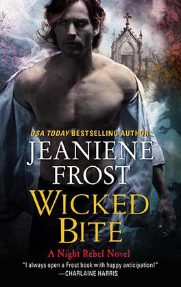 Couverture du livre : Night Rebel, Tome 2 : Wicked Bite
