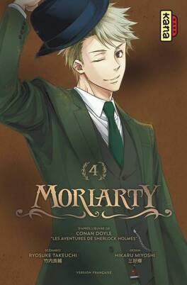 Couverture du livre : Moriarty, Tome 4