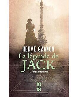 Couverture du livre : la légende de jack
