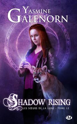 """Couverture du livre : Les SÅ""""urs de la lune, Tome 12 : Shadow Rising"""