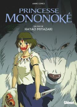 Couverture de Princesse Mononoke - Anime comics