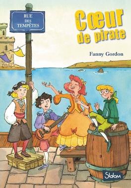 Couverture du livre : Rue des tempêtes, tome 2 : Coeur de pirate