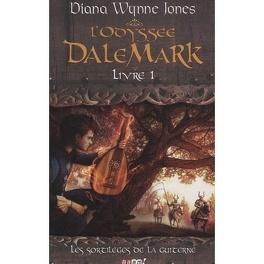 Couverture du livre : L'odyssée Dalemark, tome 1 : Les sortilèges de la guiterne
