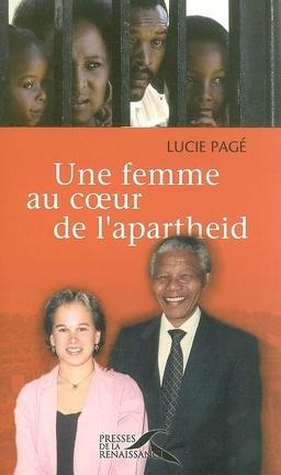 Couverture du livre : Une femme au coeur de l'apartheid