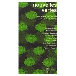Couverture du livre : Nouvelles vertes