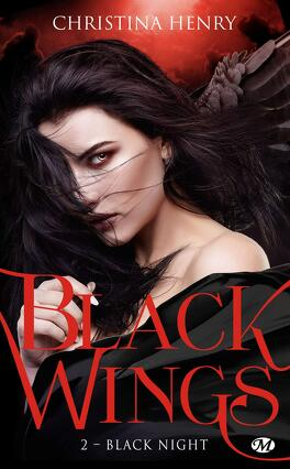 Couverture du livre : Black Wings, Tome 2 : Black Night