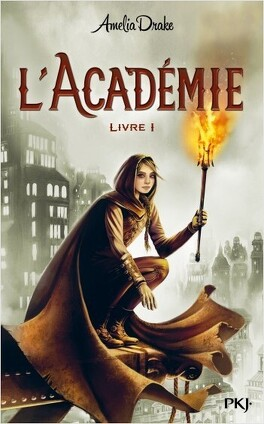 Couverture du livre : L'académie - Livre 1