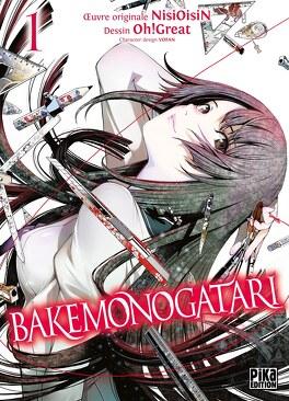 Couverture du livre : Bakemonogatari, Tome 1