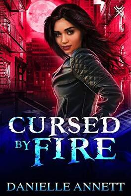 Couverture du livre : Blood and Magic, Tome 1: Cursed by Fire