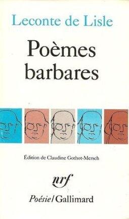 Couverture du livre : Poèmes barbares