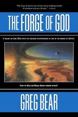 Couverture du livre : The forge of God
