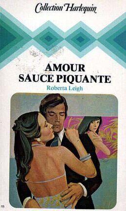 Couverture du livre : Amour sauce piquante