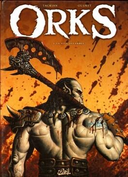 Couverture du livre : Orks, Tome 1 : La voix des armes