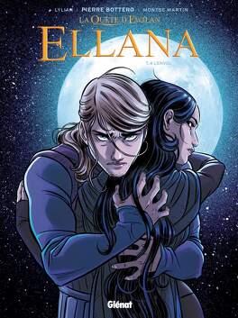 Couverture du livre : Ellana, Tome 4 : L'envol (BD)