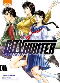 Couverture de City Hunter Rebirth, Tome 1