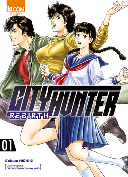 Couverture du livre : City Hunter Rebirth, Tome 1