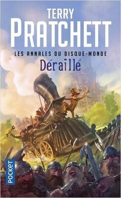 Couverture de Les Annales du Disque-Monde, tome 35 : Déraillé