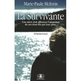 Couverture du livre : La Survivante