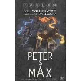 Couverture du livre : Peter & max dans l'univers de fables
