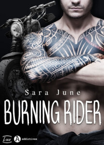 Couverture de Dark Soldiers, Tome 3 : Burning Rider