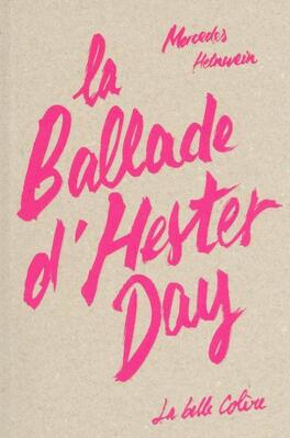Couverture du livre : La Ballade d'Hester Day