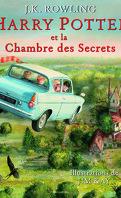 Harry Potter, Tome 2 : Harry Potter et la Chambre des Secrets (Illustré)