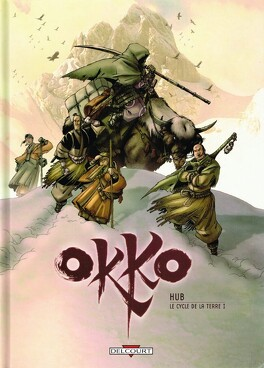 Couverture du livre : Okko, Tome 3 : Le cycle de la terre : Première partie