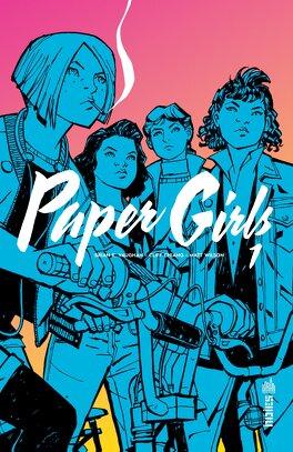 Couverture du livre : Paper Girls, Tome 1