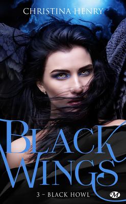 Couverture de Black Wings, Tome 3 : Black Howl