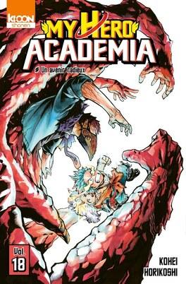 Couverture du livre : My Hero Academia, Tome 18 : Un avenir radieux