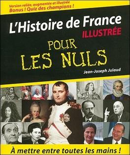 Couverture du livre : L'histoire de France pour les nuls