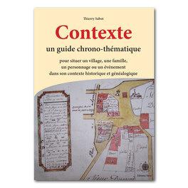 Couverture du livre : Contexte, guide chrono-thématique