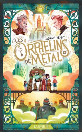 Couverture du livre : Les Orphelins de métal