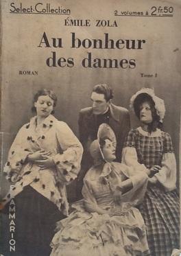 Au Bonheur Des Dames Tome 1 Livre De Emile Zola