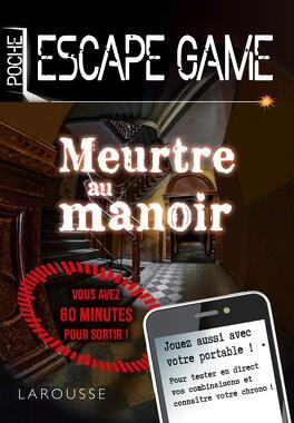 Escape Game Meurtre Au Manoir Livre De Nicolas Trenti