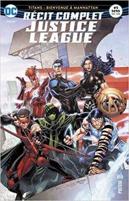 Couverture du livre : Justice League - Récit complet Tome 5 : Le Retour des Cinq Redoutables !