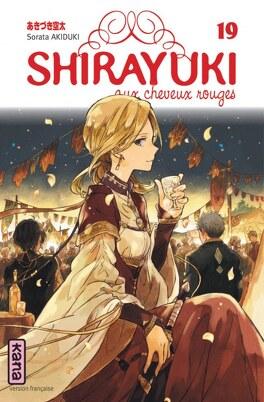 Couverture du livre : Shirayuki aux cheveux rouges, Tome 19