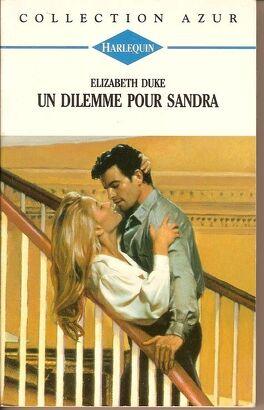 Couverture du livre : Un dilemme pour Sandra
