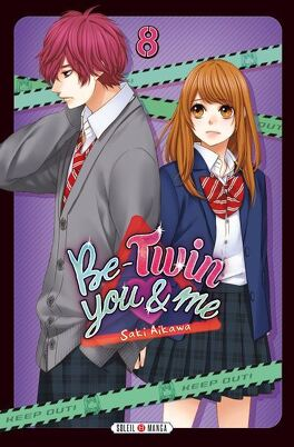 Couverture du livre : Be-Twin you and me, Tome 8