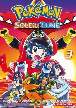 Pokemon Soleil Et Lune Tome 3 Livre De Hidenori Kusaka