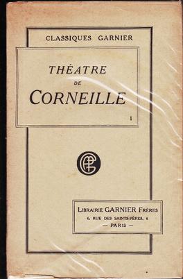 Couverture du livre : Théâtre de Corneille, tome 1