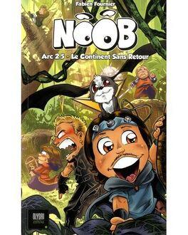 Couverture du livre : Noob - Le continent sans retour